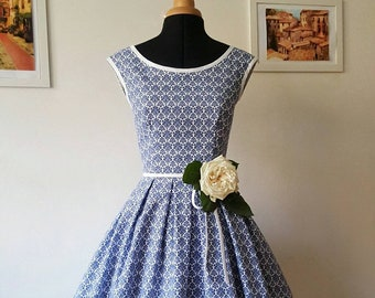 Cotton Tea Dress