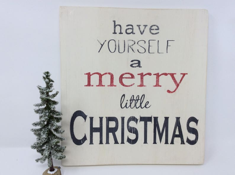 Reduced Price Merry Christmas Sign Christmas Decor Wood Sign