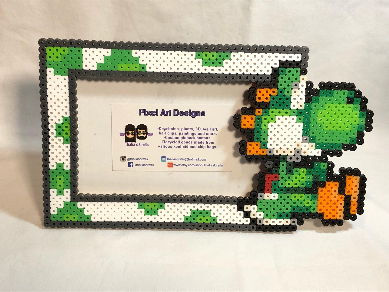 Yoshi Bilderrahmen Yoshi von Mario-Brüder | Etsy
