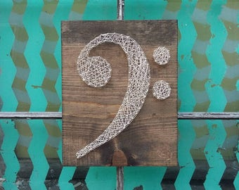 string art music note string art treble clef nail art music. Black Bedroom Furniture Sets. Home Design Ideas