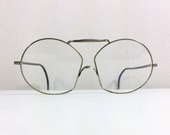 1940s Old Timey Wire Rim Glasses