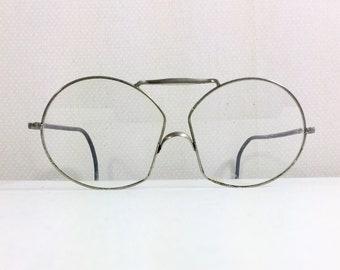 1940s Old Timey Wire Rim Glasses