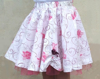 PDF Girls Summer Skirt Pattern, Girls Skirt Pattern, Easy skirt pattern, Skirt sewing pattern, Twirl Skirt Pattern