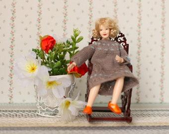 Femmes Chaussettes Blanches Maison de poupées Heidi Ott