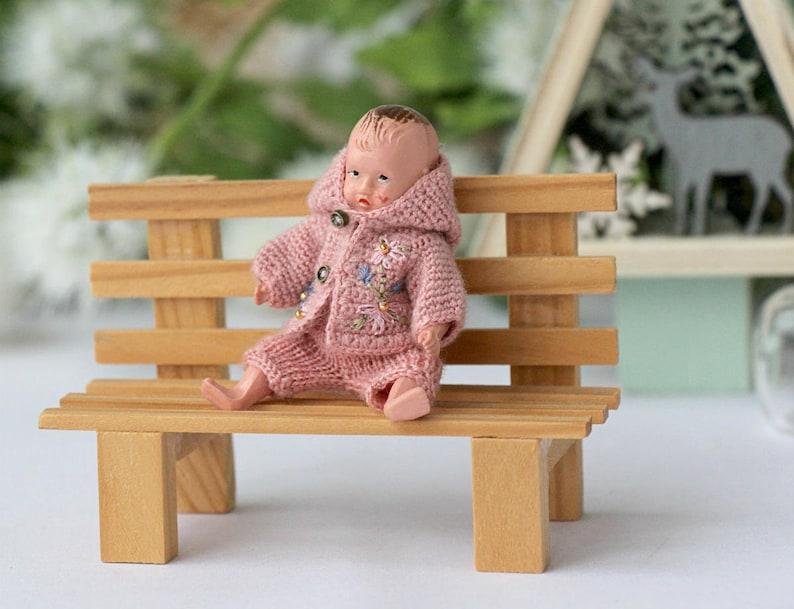 Casa Delle Bambole Mini Bambola Uncinetto Vestiti Bambola Etsy