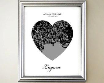 Lugano Heart Map