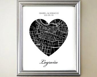 Logrono Heart Map