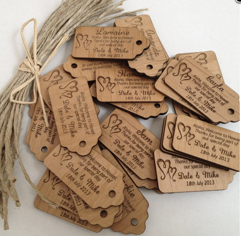 500 wooden tags, custom wooden labels, Clothing labels, wood labels for  knitted