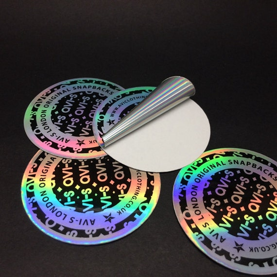 100pcs Custom hologram sticker stickers hologram | Etsy