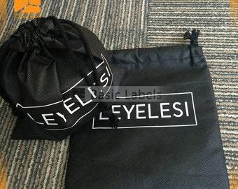 Custom non-woven bag, custom drawstring dust bag