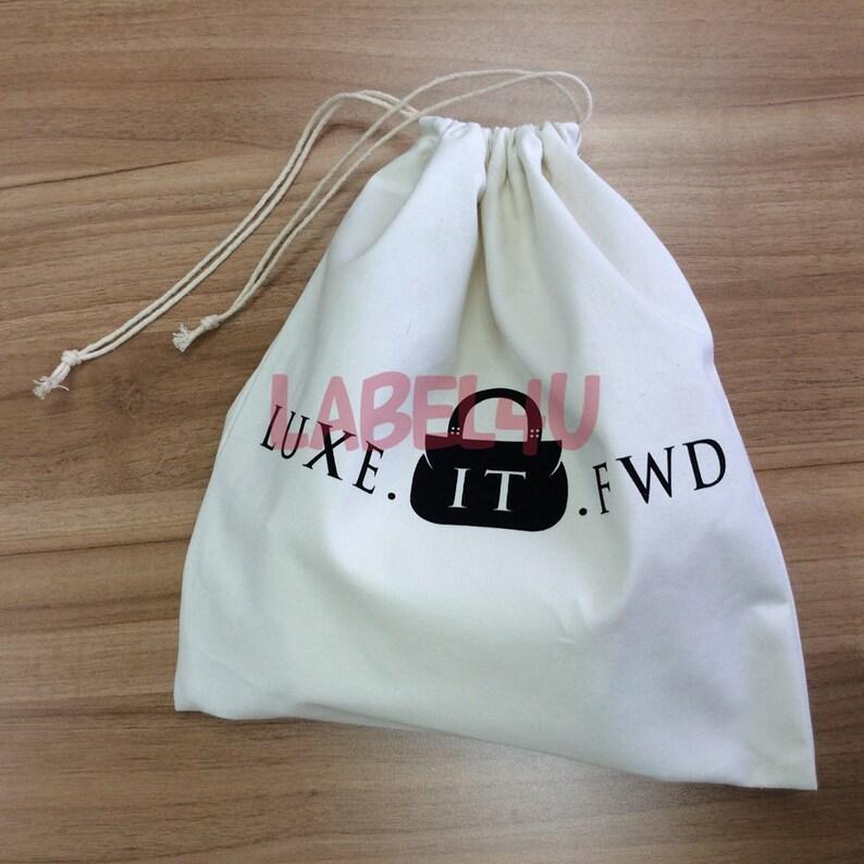 Natural Cotton Dust Bag cotton bags drawstring 200 custom shoe dust bag Dust Bag Gift Bag Cotton Gift Bag dust bag for shoes