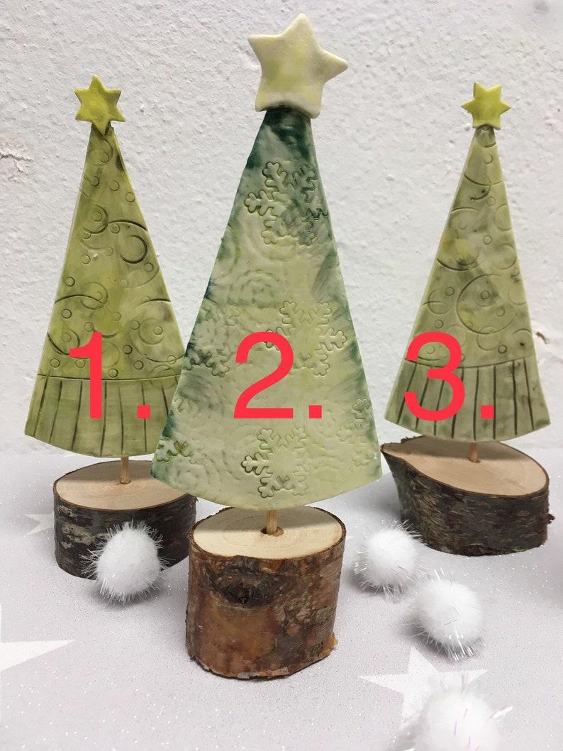 Handmade Decorative Porcelain Christmas Tree