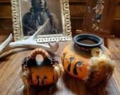 Vintage Hopi Kachina Doll, Navajo Crown Dancer, Pottery, Western Home Decor, Ranch House Decor, Dream Catcher