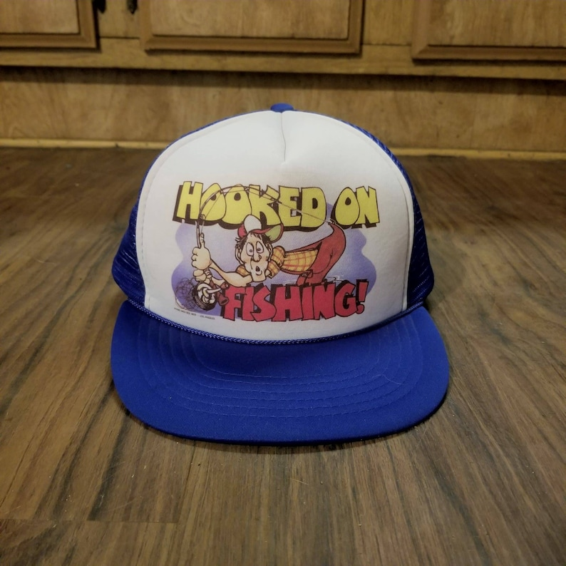Vintage Snapback Hats >> 1985 Vintage Snapback Hats Vintage Trucker Hats Men Women Kids Vintage Clothing Skater Hats Hunting Hats Home Decor