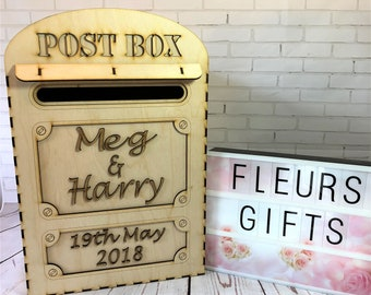 Wedding Card Box With Lock Etsy