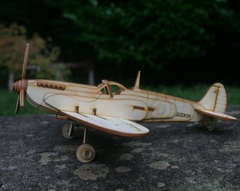 Spitfire Plane Model Kit
