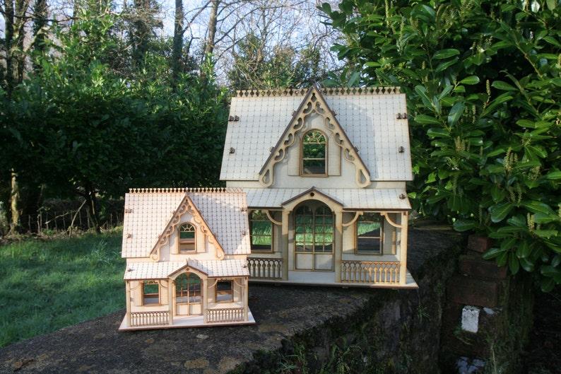 Häuser Laser Cut Ply Wood Wooden Model Up House 3mm 6mm 3d