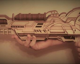 Model Kit  Megatronic Ray Gun