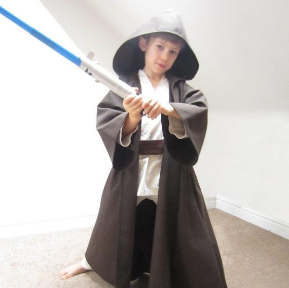 Jedi Robe Star Wars Cloak Luke Skywalker Costume Sewing | Etsy