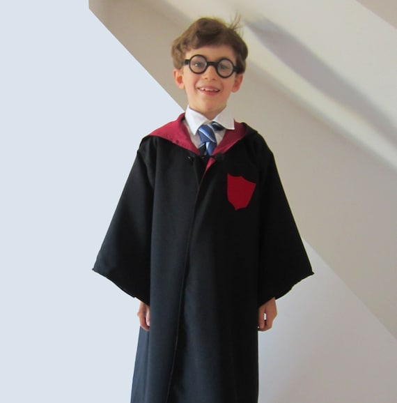 Wizard Cloak not Harry Potter Robe Lined Sewing Pattern | Etsy