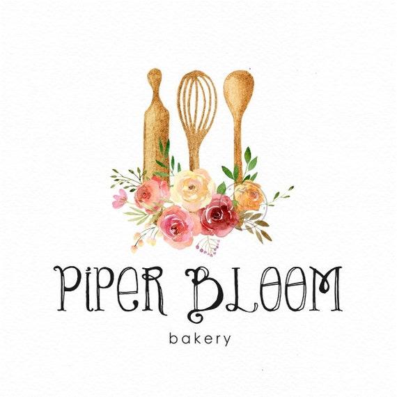 Panificio Preconfezionati Logo Cucina Utensili Da Cottura Etsy