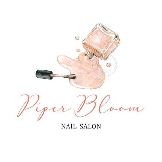 Premade Logo Nail Salon Makeup Artist Nail Polish Nails