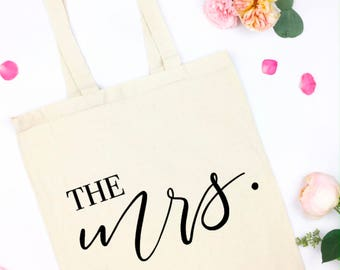 the mrs canvas tote