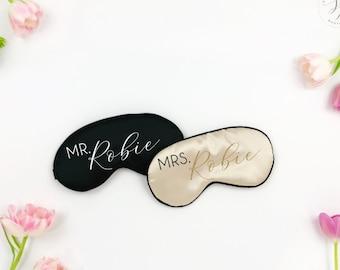 Mr and Mrs Sleep Eye Mask (Set of 2)