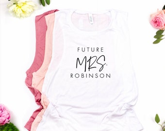 Personalized Future Mrs Muscle Tee