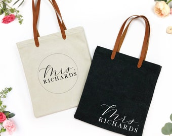 mrs bag - wifey tote bag - honeymoon bag - Future Mrs tote - Bride tote - Bride to be tote - personalized tote - Wedding Bag- future mrs bag