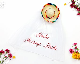 Sombrero Nacho Average Bride Veil