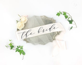 The Bride Sash