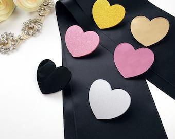 Sash Heart Pin Upgrade