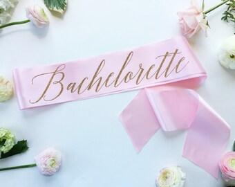Bachelorette sash - Bachelorette party Sash - bride to be sash - miss to mrs sash - future mrs sash - personalized sash - party accessory