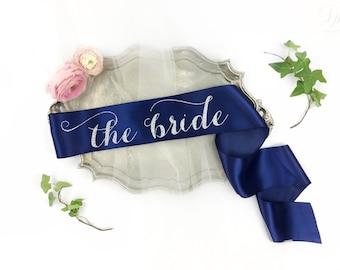 The Bride Sash, Bachelorette Sash, Bride to be Sash, Bride Gift, Bachelorette Party Accessory, bachelorette party sash, bachelorette gift