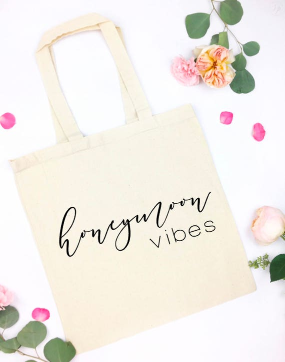 honeymoon vibes tote - bride tote - Future Mrs tote - Bride tote - Bride to be tote - Bachelorette - future mrs bag - wifey tote - wifey bag