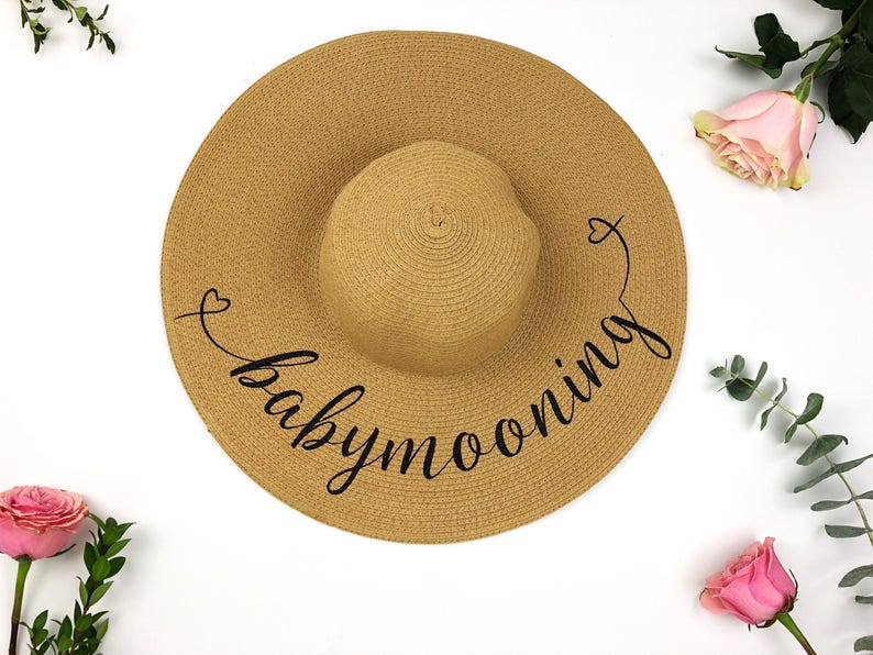 Babymooning hat Baby on Board Hat  Babymoon hat  Mommy Hat image 0