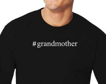 Grandmother Hashtag Long Sleeve T-Shirt