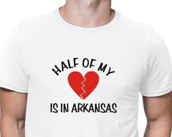 Half Of My Arkansas T-Shirt