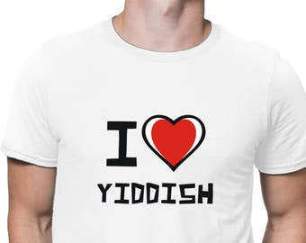 3e0df1b7 I Love Yiddish T-Shirt
