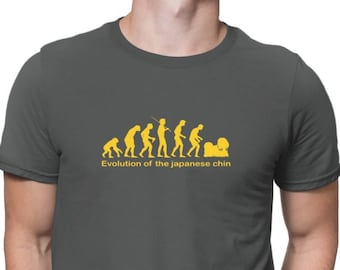 Evolution Of The Japanese Chin T-Shirt
