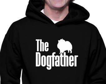 The dogfather Keeshond 1 Hoodie Y36tjEY9fF