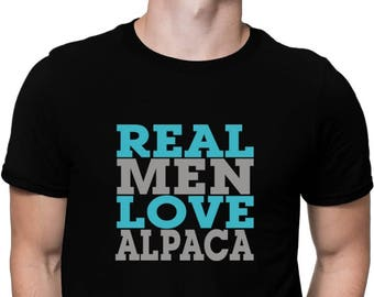 Real Men Love Alpaca T-Shirt