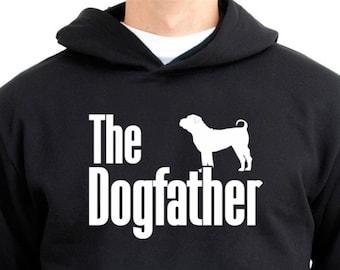 The dogfather Shar Pei Hoodie