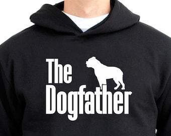 The dogfather Olde English Bulldogge Hoodie 4wxjHHaG