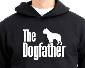The dogfather Olde English Bulldogge Hoodie mqXHhn87vM