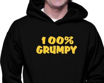 Grumpy Moody Unisex Hoodie I Like The Sound You Make When You Shut Up