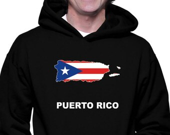 Puerto Rico National Country Pride The Blue Hurricane Hoodie Pullover