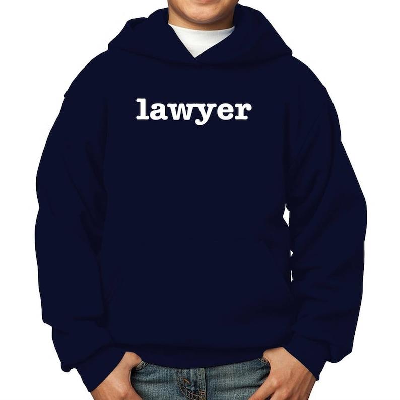 Lawyer Children Hoodie
