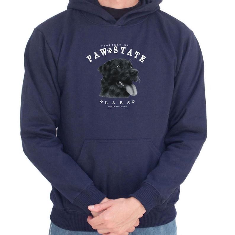 Paw State Labrador Retriever Hoodie